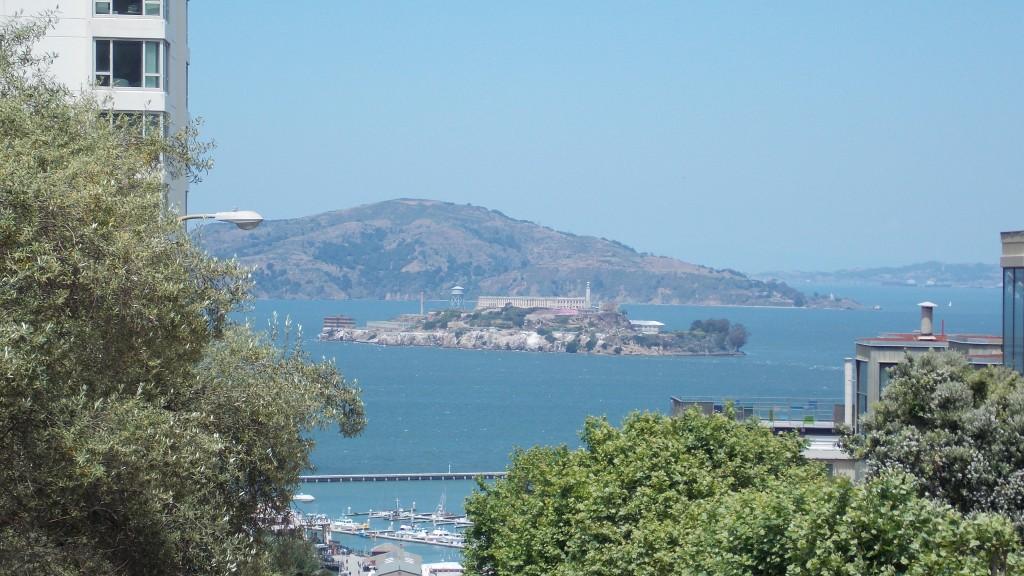 vista de Alcatraz